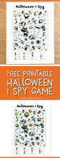 Free Printable Halloween I Spy Game Printable Activities For