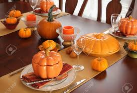 thanksgiving day table settings rosemary ideas copper inspired