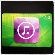 10 gift cards itunes 10 dollar gift card
