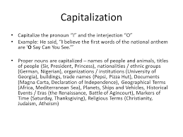 capitalization mr pettine october 5 6 capitalization capitalize