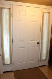 Front Door Side Curtains by Front Doors Front Door Curtains Walmart Front Door Curtains