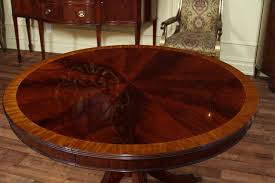 beautiful round dining room table with leaf 44 on small home