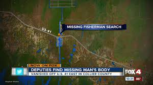 Collier County Flood Maps Fisherman Drowns While Using A Castnet Near Port Of The Islands