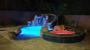 intellibrite landscape lights pools and spas custom designs in las vegas greencare net