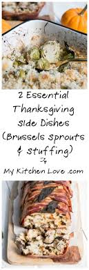 essential thanksgiving side dishes brussels sprouts au gratin