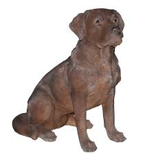 chocolate labrador real ornament by arts ornaments