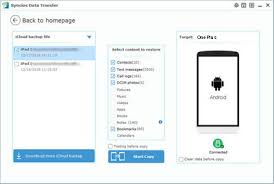 icloud backup for android how to recover itunes icloud backup to android phone
