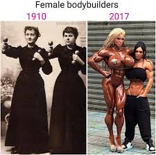 Female Bodybuilder Meme - times have changed for female bodybuilders funny memes daily lol