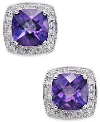 amethyst earrings amethyst earrings shop amethyst earrings macy s