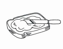 Coloring Pages Bread Coloring Page