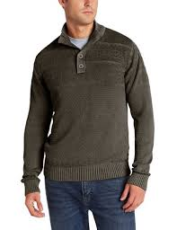 men u0027s mock neck sweater amazon com