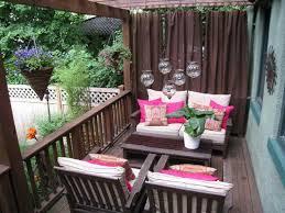 patio decor ideas on a budget wrap cloth napkins with summery