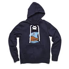 toronto argonauts boat logo collection men u0027s navy lace hoodie