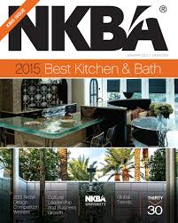 2015 Nkba Bathroom Design Of The by Nkba Magazine Kbis Issue January 2015 By National Kitchen U0026 Bath