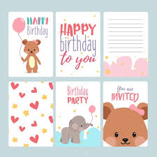 17 birthday card templates free psd eps document download
