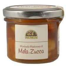 mostarda di zucca mantovana mostarda mantovana di mele e zucca 120 gr agricola senga affi