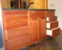Full Overlay Kitchen Cabinets Gorgeous Golden Oak Kitchen Cabinets With Round Stainless Steel