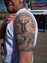 Tattoo Ideas For Hunters Awesome Top 100 Hunting Tattoos Http 4develop Com Ua Top 100