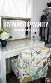 Makeup Organizer Desk by Diy Makeup Vanity Making Mornings Better