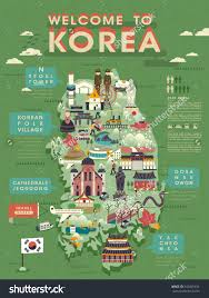 Map Of South Korea Lovely South Korea Travel Map With Abundant Attractions New Zone