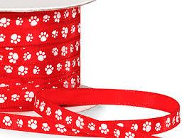 paw print ribbon paw print ribbon