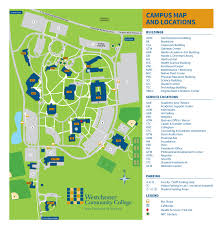 Colleges In Virginia Map by A Campus Map Visual Arts Seminar