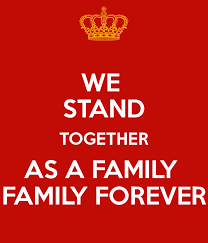 we stand together as a family family forever poster josiah keep