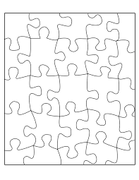 best photos of jigsaw puzzle template 8x10 make your own jigsaw