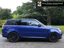 range rover svr black used 2016 land rover range rover sport svr vat q high spec for