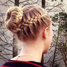 howtododoughnut plait in hair hair to try braided bun hairstyles bun hair choices and summer