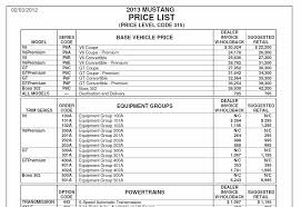 mustang car 2014 price 2014 price list ford mustang forum