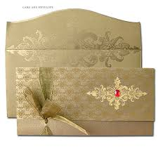 wedding cards in india wedding card design rectangle envelope paper olden floral