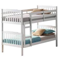 white bunk beds with trundle and mattresses home design ideas