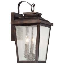 Rustic Outdoor Wall Lighting The Great Outdoors By Minka Lavery Irvington Manor 3 Light Chelsea