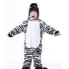 kigurumi retail outlet kids zebra pajamas animal costume kigurumi