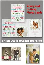 Newly Wed Christmas Card Newlywed Christmas Cards For Sharing Your Favorite Wedding Photo