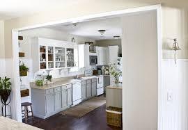Diy White Kitchen Cabinets by Diy Beadboard Kitchen Cabinets Kitchens Andrine