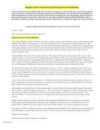 Grant Application Cover Letter Sample Stunning Grant Proposal Letter Images Sample Resumes U0026 Sample