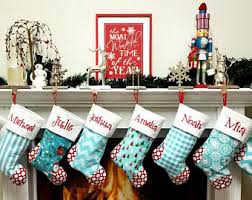 christmas stockings sale sale set of 5 personalized family christmas stockings ships