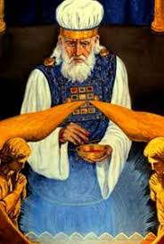 high priest garments the prophet jeremiah and the five guardians