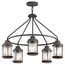 colonial style outdoor lighting 5 light colonial style hoop chandelier for indoor or outdoor lighting