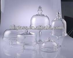 small cake stand glass bell stand glass stand cloche wholesale glass small cake
