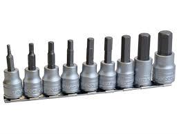 teng m3812 10 piece rail hex key socket set metric 3 8in drive