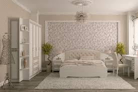 Modern White Headboard by Modern White Wicker Bedroom Furniture With Upholstered Headboard
