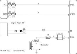 headlight beam level control ecu communication circuit toyota
