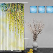 Gray Fabric Shower Curtain Coffee Tables Grey Window Valance Shower Curtains Yellow And