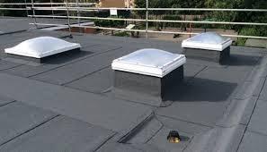 bauder btrs system with bauder roof lights and some sharp