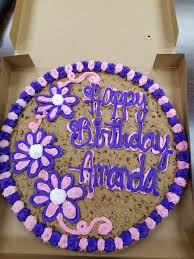 mrs fields cookie cakes mrs fields 10 minute custom cookie cakes crabtree valley mall