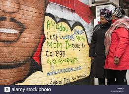 Mural Artist by New York City Usa 28th Jan 2017 Kadiatou Diallo L And Mural