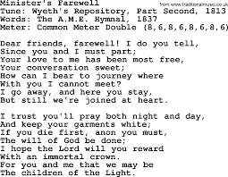 Common The Light Lyrics Sacred Harp Song Minister U0027s Farewell Lyrics And Pdf